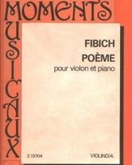 Zdenek Fibich: Poéme hegedűre, zongorakísérettel