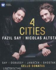 Fazil Say & Nicolas Altstaedt: 4 Cities - Say, Debussy, Janacek, Shostakovich Cello Sonatas