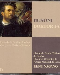 Ferruccio Busoni: Doktor Faust 3 CD