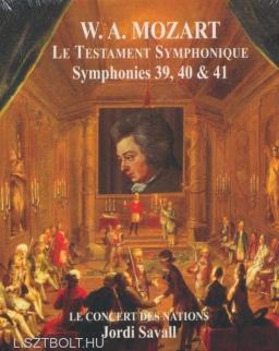 Wolfgang Amadeus Mozart: Symphony No. 39,40,41 - 2 CD