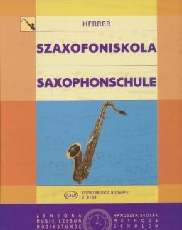 Herrer Pál: Szaxofoniskola