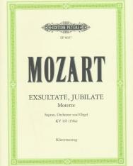 Wolfgang Amadeus Mozart: Exultate, Jubilate - zongorakivonat