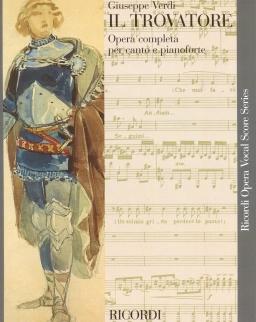 Giuseppe Verdi: Il trovatore- zongorakivonat (olasz)