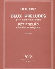 Claude Debussy: Két prelüd klarinétra zongorakísérettel