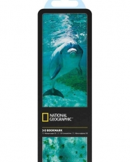 National Geographic 3-D Bookmark - Atlantic Bottlenose Dolphin