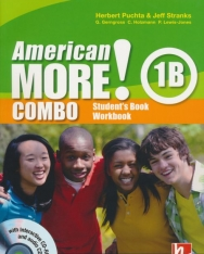 American More! 1 Combo B with Audio CD / CD-ROM