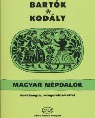 Bartók - Kodály: Magyar népdalok (20 magyar népdal)