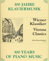 300 év zongoramuzsikája - Bécsi klasszikusok