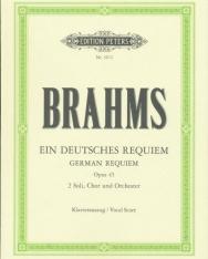 Johannes Brahms: Ein deutsches Requiem - zongorakivonat