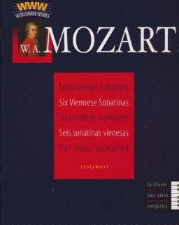 Wolfgang Amadeus Mozart: Hat bécsi szonatina zongorára