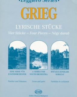 Grieg: Lyrische Stücke (Leggiero sorozat, ifjúsági vonószenekarra)