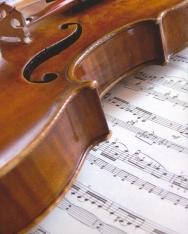 Képeslap - hegedű