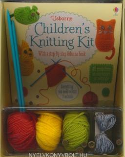 Usborne Children's Knitting Kit - With a Step-by-Step Usborne Book