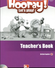 Hooray! Let's Play! Level B Teacher's Book with Audio CDs (2) & DVD-ROM