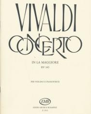 Antonio Vivaldi: Concerto for Violin (A-dúr)