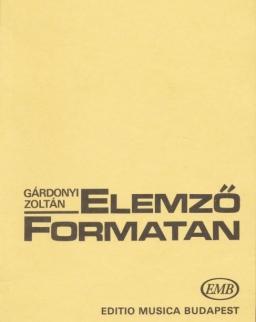 Gárdonyi Zoltán: Elemző formatan
