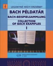 Legányné Hegyi Erzsébet: Bach példatár 1.