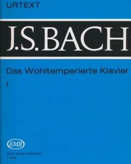 Johann Sebastian Bach: Das Wohltemperierte Klavier 1. (Urtext)