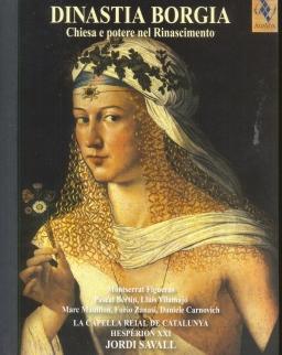 Dinastia Borgia  - Chiesa e potere nel Rinascimento (3 CD+DVD+könyv)