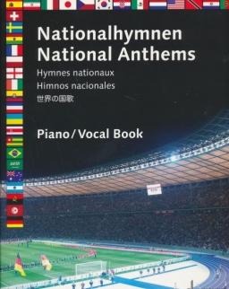 Nemzeti Himnuszok - 50 állami himnusz ének+zongora
