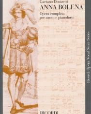 Gaetano Donizetti: Anna Bolena - zongorakivonat (olasz)