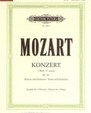 Wolfgang Amadeus Mozart: Concerto for Piano K. 491 (2 zongora)