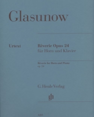 Alexander Glasunow: Réviere op. 24 - kürtre, zongorakísérettel