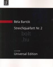 Bartók Béla: String Quartet No. 2 kispartitúra