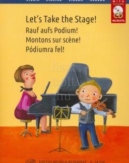 Pódiumra fel! - könnyű előadási darabok hegedűre és zongorára + CD