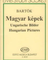 Bartók Béla: Magyar képek - kispartitúra