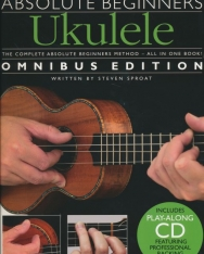 Absolute Beginners Ukulele + CD