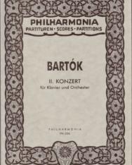 Bartók Béla: Concerto for Piano No. 2. kispartitúra