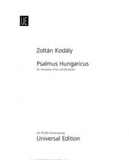 Kodály Zoltán: Psalmus Hungaricus - zongorakivonat
