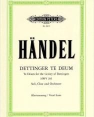 Georg Friedrich Händel: Dettinger Te Deum - zongorakivonat