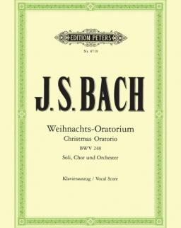 Johann Sebastian Bach: Weihnachts - Oratorium - zongorakivonat