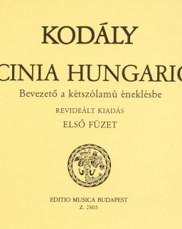 Kodály Zoltán: Bicinia Hungarica 1. - bevezetés a kétszólamú éneklésbe