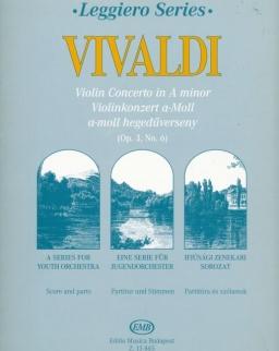 Antonio Vivaldi: Hegedűverseny a-moll (leggiero sorozat, ifjúsági vonószenekarra)