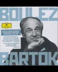 Bartók Complete Recordings - Pierre Boulez - 8 CD
