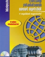 Érettségi feladatsorok német nyelvből + megoldások magyarázattal - Középszint, CD melléklettel (MX-291)