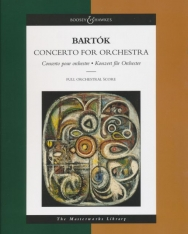 Bartók Béla: Concerto - partitúra