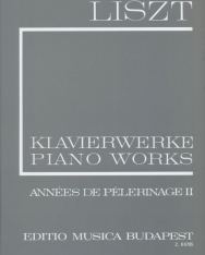 Liszt Ferenc: Années de Pélerinage 2. (fűzött)