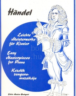 Georg Friedrich Handel: Kezdők zongoramuzsikája