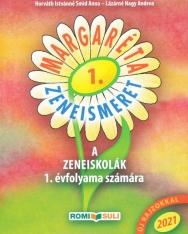 Margaréta - Zeneismeret tankönyv a zeneiskolák 1. évfolyama számára (2020, QR kóddal)
