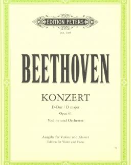 Ludwig van Beethoven: Concerto for violin (zongorakivonat)