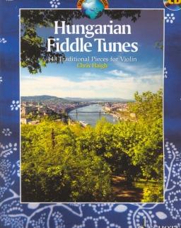 Hungarian Fiddle Tunes  (hegedűre zongorakísérettel és CD-melléklettel)