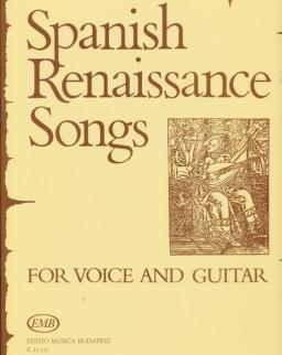 Spanyol reneszánsz dalok - ének-gitár