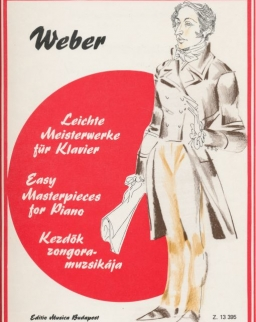 Carl Maria von Weber: Kezdők zongoramuzsikája