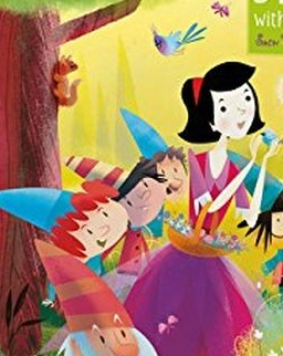Usborne Jigsaw with a Picture Book - Snow White and the Seven Dwarfs
