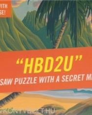 Knock Knock HBD2U Message Puzzle