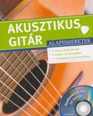 Akusztikus gitár alapismeretek - gyakorló CD-vel